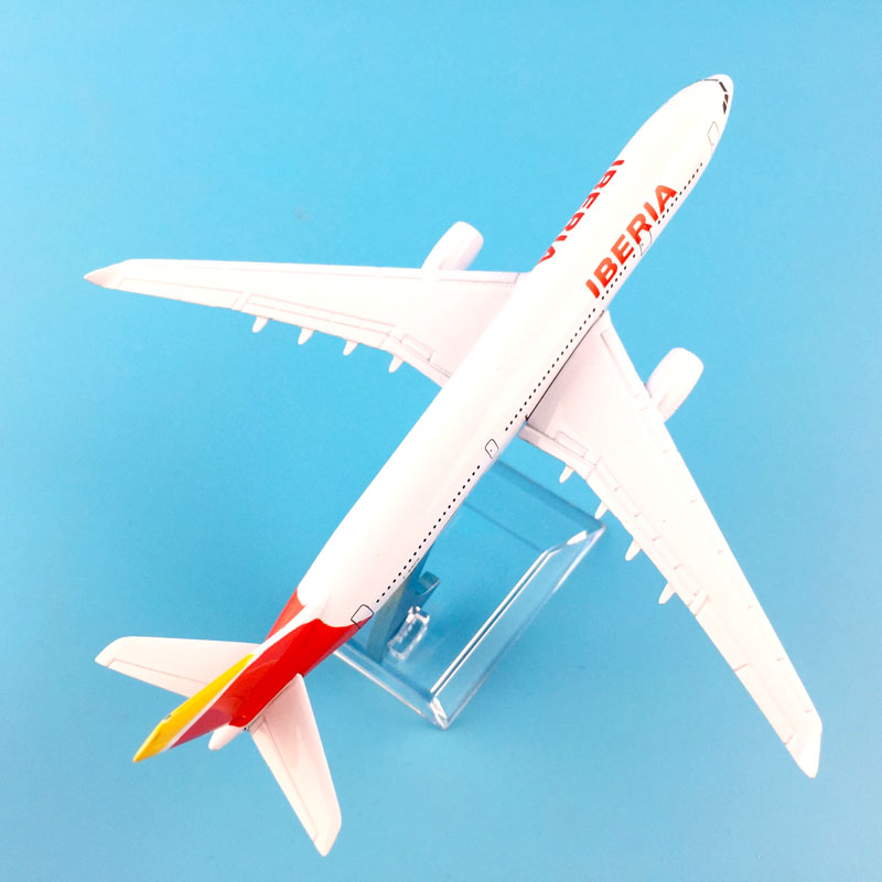 Image 3 - AIR PASSENGER  A330 IBERIA  AIR AIRWAYS   AIRPLANE  METAL ALLOY MODEL PLANE AIRCRAFT MODEL  TOY  BIRTHDAY GIFT  COLLECTON-in Diecasts & Toy Vehicles from Toys & Hobbies