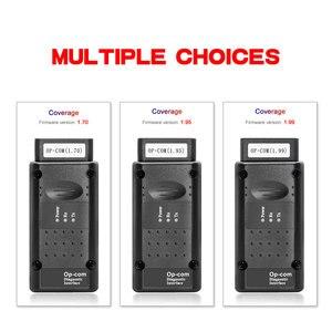 Image 3 - OPCOM V5 For Opel OP COM 1.70 flash firmware update OP COM 1.95 PIC18F458 FTDI CAN BUS OBD OBD2 Scanner Car Diagnostic Auto Tool
