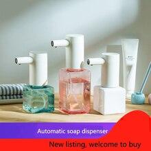 Lebath с тепловым датчиком, автоматический мыльный счетчик, Ручной бесконтактный дезинфицирующий прибор для ванной комнаты, перезаряжаемый, умная шайба