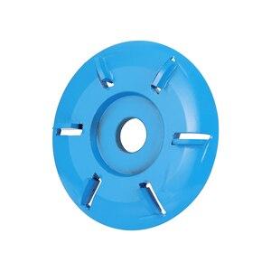 Image 1 - Coupeur de fraisage doutil de disque de sculpture sur bois de puissance de Six dents pour la meuleuse dangle douverture de 16mm