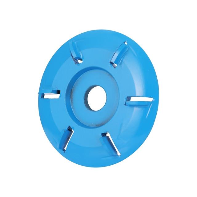 Coupeur de fraisage doutil de disque de sculpture sur bois de puissance de Six dents pour la meuleuse dangle douverture de 16mm