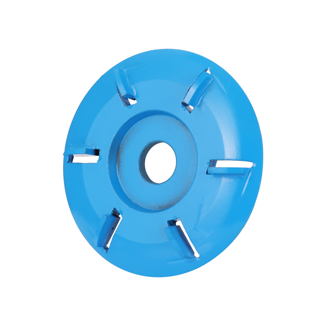 Six tooth Power Wood Carving Disc Tool Milling Cutter for 16mm Aperture Angle Grinder