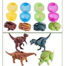 Игрушки для детей имитационная Игрушечная модель динозавра деформированный динозавр коллекция яиц для детей Забавные подарки для детей# CN20