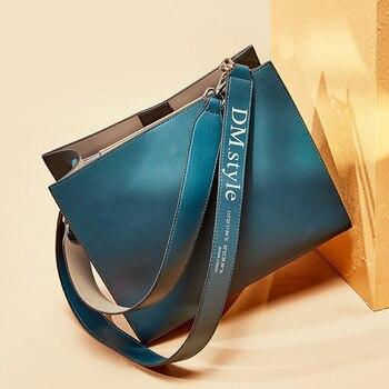 Top Brand Luxury Handbag Killer bag Women Genuine Leather Fashion Leisure Briefcase Bag Lady Shoulder Messenger Crossbody Bag