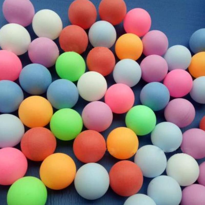10 Pcs 38mm White Beer Pong Balls Ping Pong Balls Washable Drinking Balls Practice White Table Tennis Ball Ping Pong