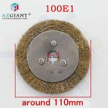 Orijinal PD023 100E1 çelik tel fırça için Defu 100E1 anahtar kesme makinesi çilingir aksesuarları