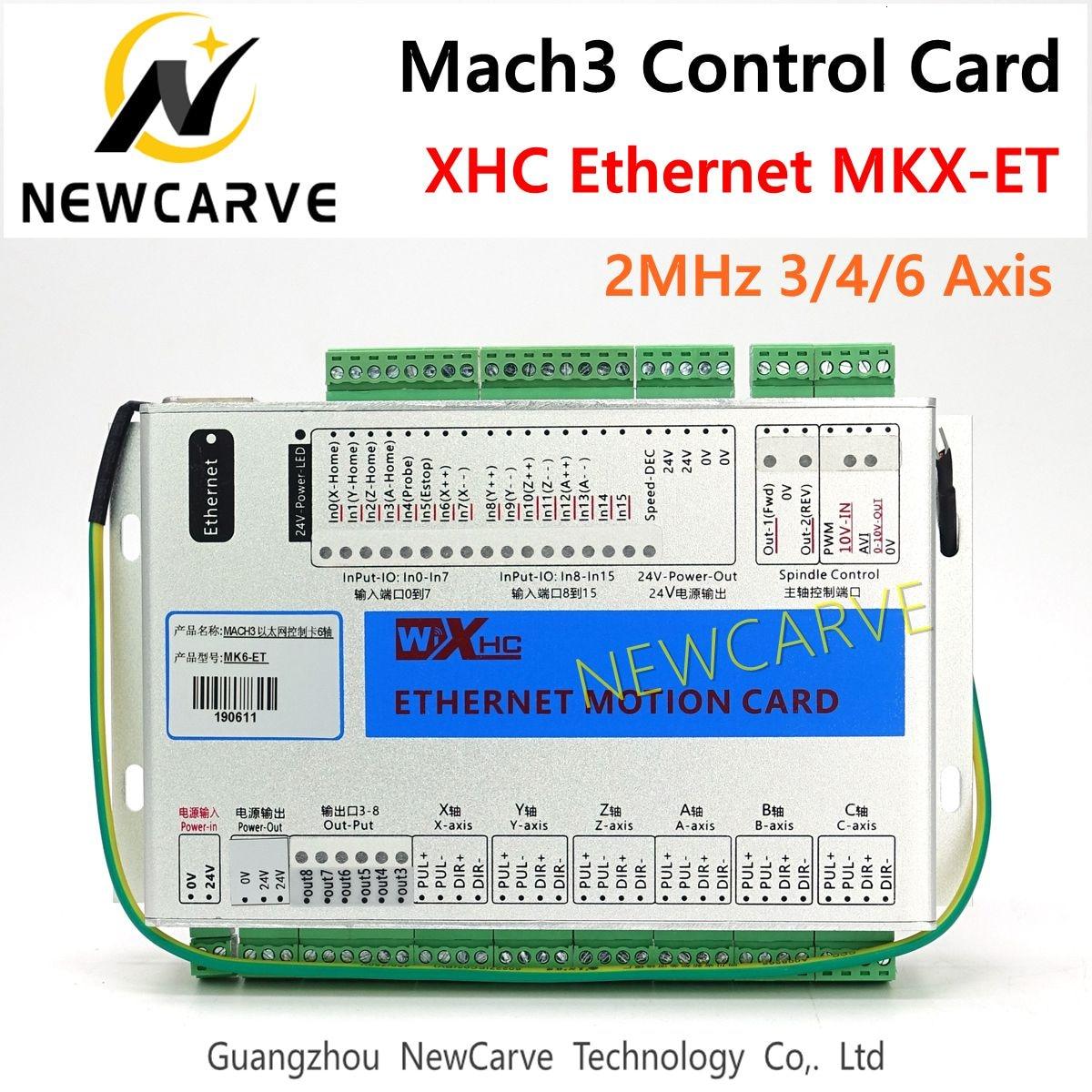 4-Achse Wired MPG Anhänger Handrad Controller für Mach3 CNC Drehmaschine DE