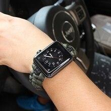 Apple Watch Belt Series Hand-knitted Nylon Strap 4/3/2/1 Sports Leather Strap 42mm 44mm Strap for iwatch wrist strap strap billionaire strap