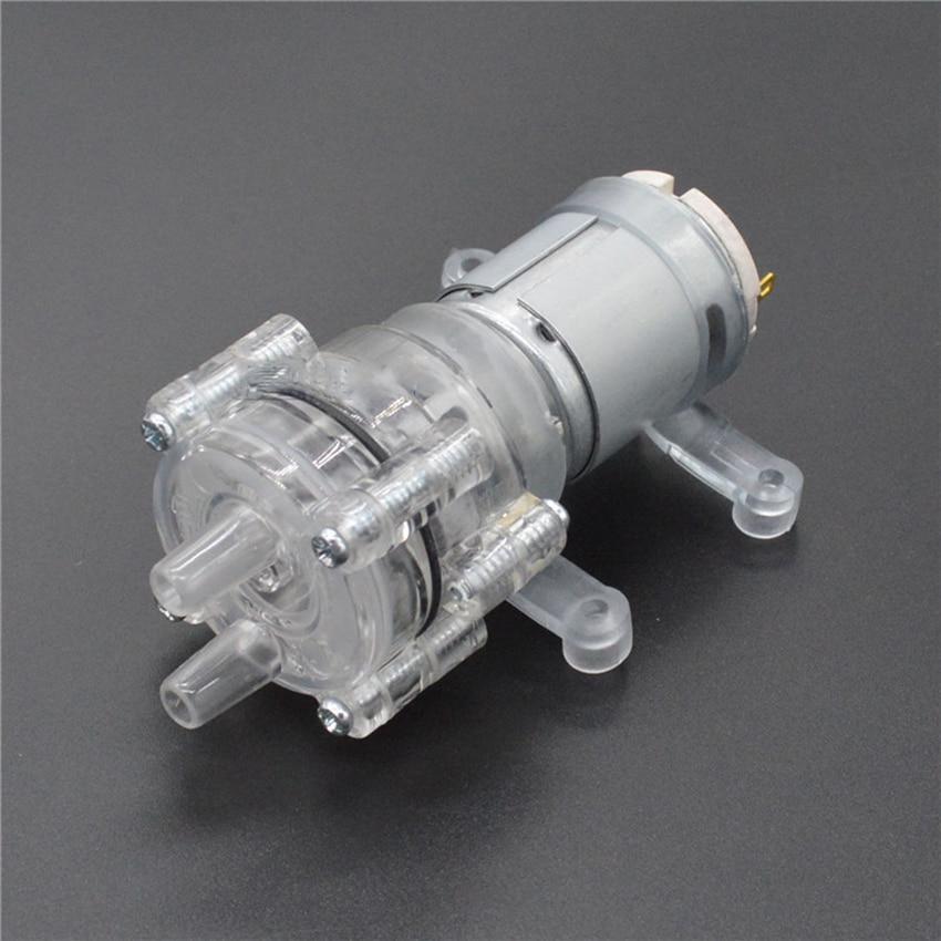 Mini DC Water Pump 6-12v Small Water Pump High Temperature Resistant 100 Degrees Long Life Self-priming Pump For Water Dispenser