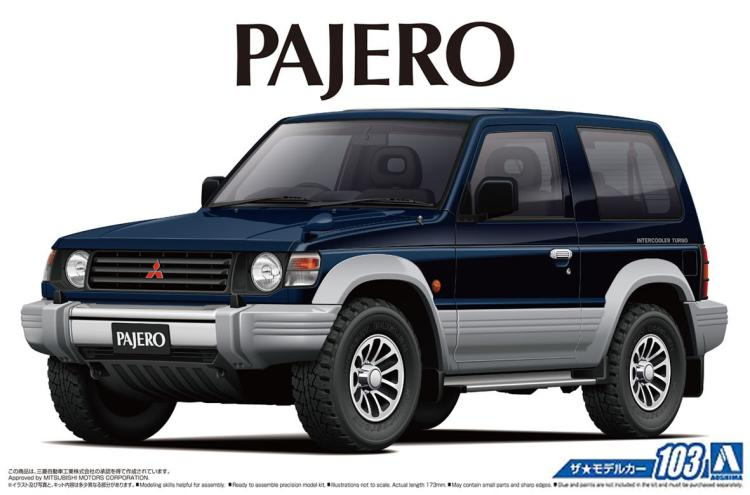 1/24 Assemble Car Model PAJERO XR-II91 05697