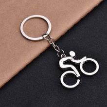 1 шт в форме велосипеда металлический брелок для ключей женская