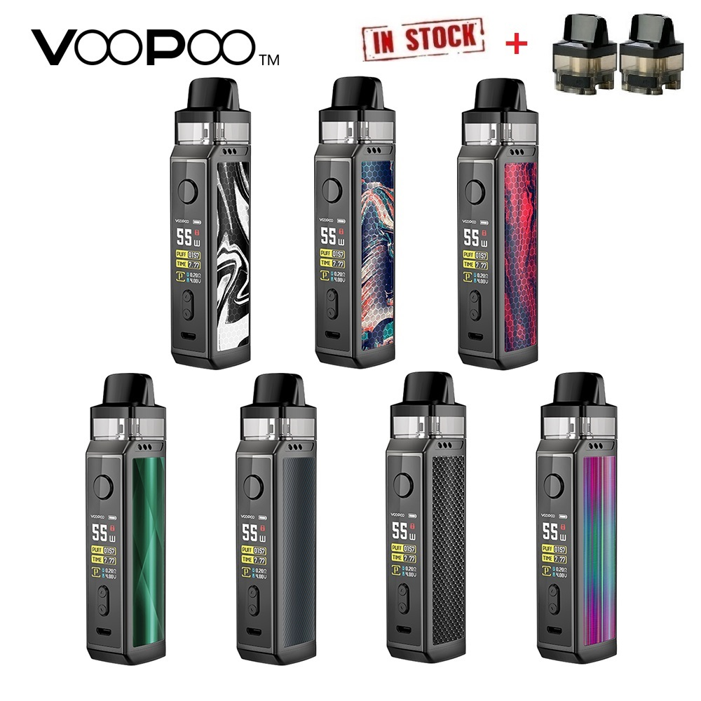 New Original VOOPOO VINCI X 70W Pod Kit With 0.96 Screen Power By 18650 Battery Box Vape Kit & 5.5ml Pod System Vs Target PM80