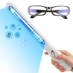 Portable UV Germicidal Lamp With Goggles Usb Led Phone Disinfection Light For Outdoor Travel 5w