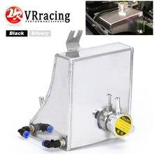 Vr-240sx s13 sr20det ka24de ka24e ka24 kit de reservatório de tanque de excesso de líquido refrigerante de alumínio para nissan (se encaixa: 240sx) VR-TK47