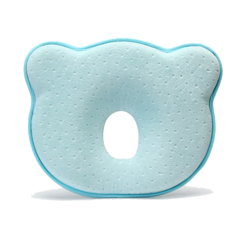 Memory Foam Baby Pillow Breathable Baby Shaping Pillows To Prevent Flat Head Ergonomic Newborns Pillow 0-12M