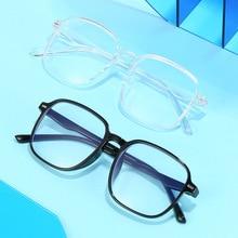 Glasses Frame Nearsighted-Eyewear Myopia Finished Vintage Short Anti-Blue light Blocking