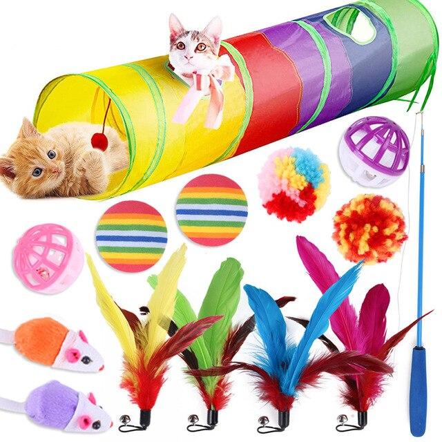 14 Pcs Kitten Tunnel Of Fun!  1