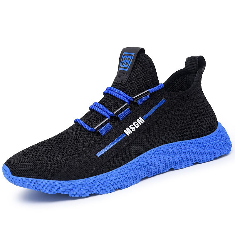 2019 Men Sneakers Breathable Casual No-slip Men Vulcanize Shoes Male Air Mesh Lace Up Wear-resistant Shoes Tenis Masculino