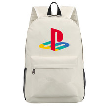Canvas Backpack Knapsack Playstation Laptop-Bag Shoulder Girls Children's Ps4 Boy