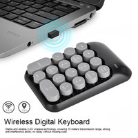 2020 Mechanical Keyboard New Mini Keyboard Wireless Bluetooth Type-c Receiver 18 Keys 2.4g Keycaps Клавиатура Droshipping #15