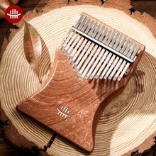 Kalimba 17 Keys Flat Thumb Piano Calimba Musical Instruments