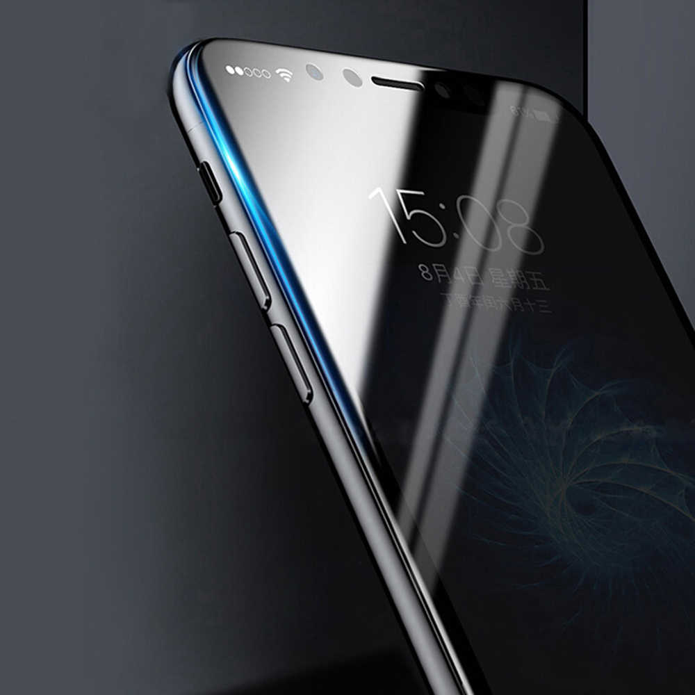 واقي شاشة ثلاثي الأبعاد مضاد للتجسس ومقوى بالخصوصية لهاتف آيفون 11 برو XS Max XR X لهاتف آيفون 7 8 6 6S Plus SE 2020
