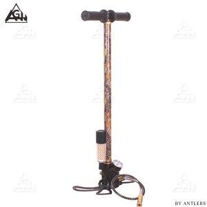 Image 3 - 4500PSI PCP Pumpe Luftgewehr luftgewehr Hochdruck Pcp Handpumpe mit luftfilter 40Mpa Gauge airsoft Paintball pumpe Edelstahl stahl