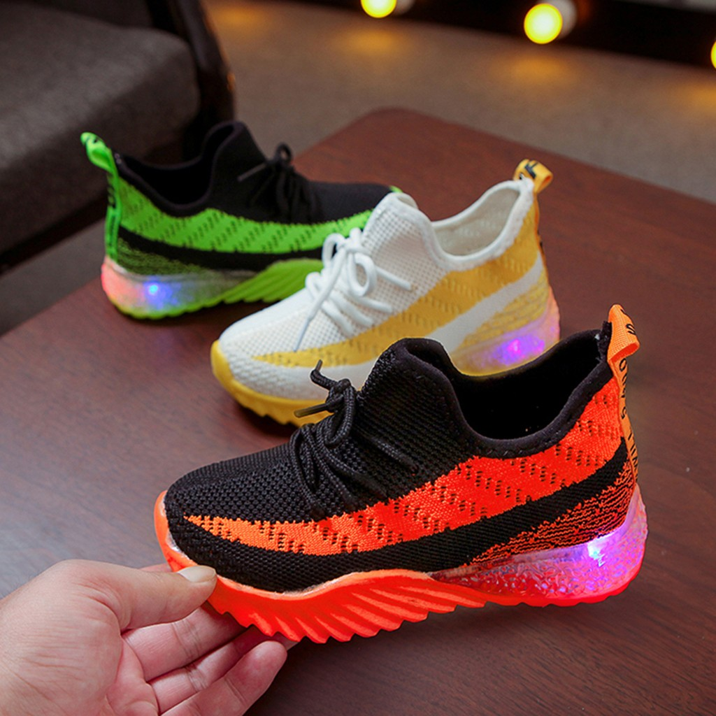 LED Comfort Cool Run Sport Sneakers 1