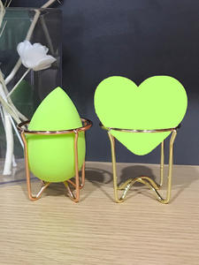 Rack Puff-Holder Cosmetic Makeup Beauty Dropship Display-Stand Egg-Powder Alloy Carbon-Steel