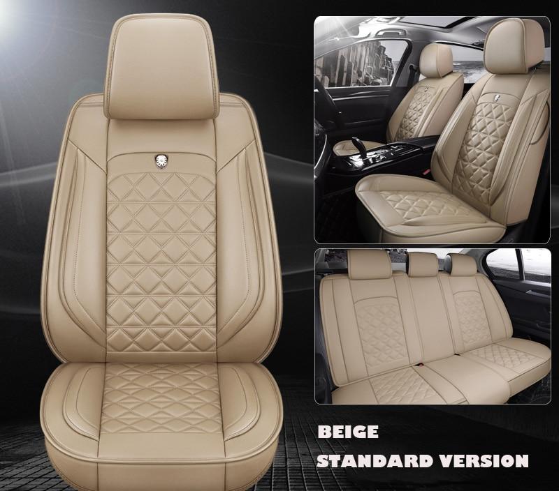 Housse de siège de voiture universelle en cuir pour auto mercedes w204 w205 w212 mercedes benz accessoires mini cooper accessoires de voiture intérieur