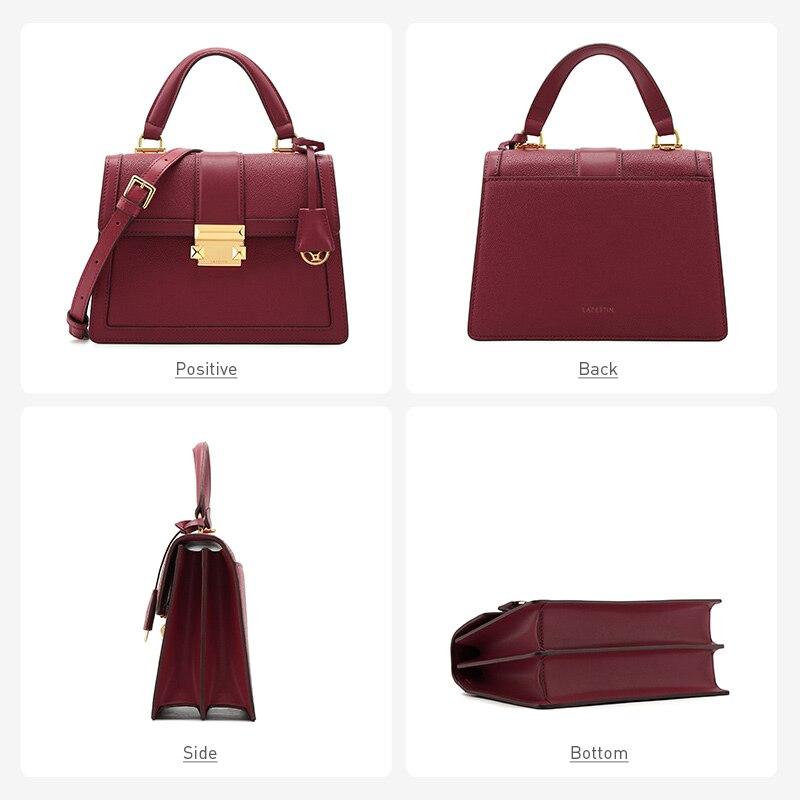 Image 5 - LAFESTIN 2019 new luxury handbags fashion leather handbag  qualities shoulder messenger bag ladies tote bolsa femininaShoulder  Bags