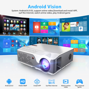 Image 2 - ThundeaL Full HD Projector Native 1920 x 1080P WiFi Android 6.0 Projector 7000Lumens Beamer Home Theater 3D Video Proyector
