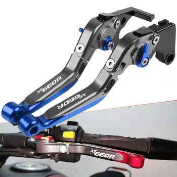 For Yamaha XT660R XT660 R 2014 2015 2016 2004-2017 Motorcycle Accessories Motorbike Adjustable Extendable Brake Clutch Levers for honda cb650f cb 650f 2014 2015 2016 2017 motorbike handbrake motorcycle accessories folding extendable brake clutch levers