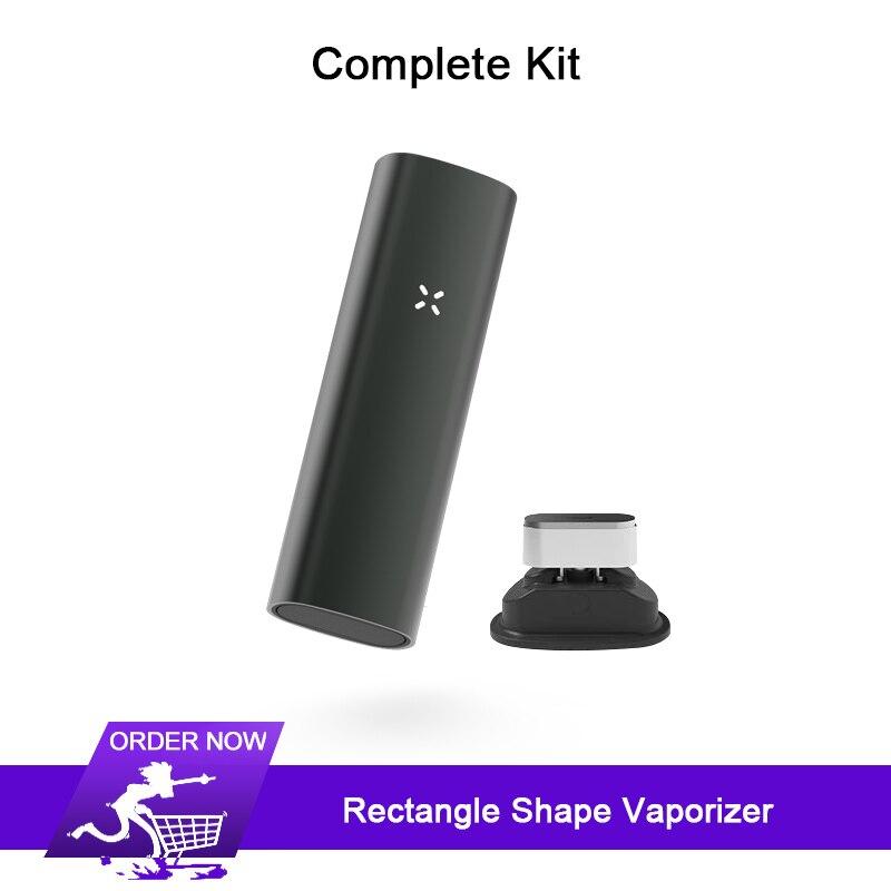 Прямоугольник 2 в 1 со испарителем для сухой травы набор электронных сигарет 3500 мАч и виброзвонок травяной испаритель без Bluetooth и PAX