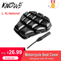 Motorcycle Cool Seat Cover Seat Protector Cushion 3D Mesh Cushion Cover Sunscreen Mat L XL Air Pad Motorcycle Seat Cushion