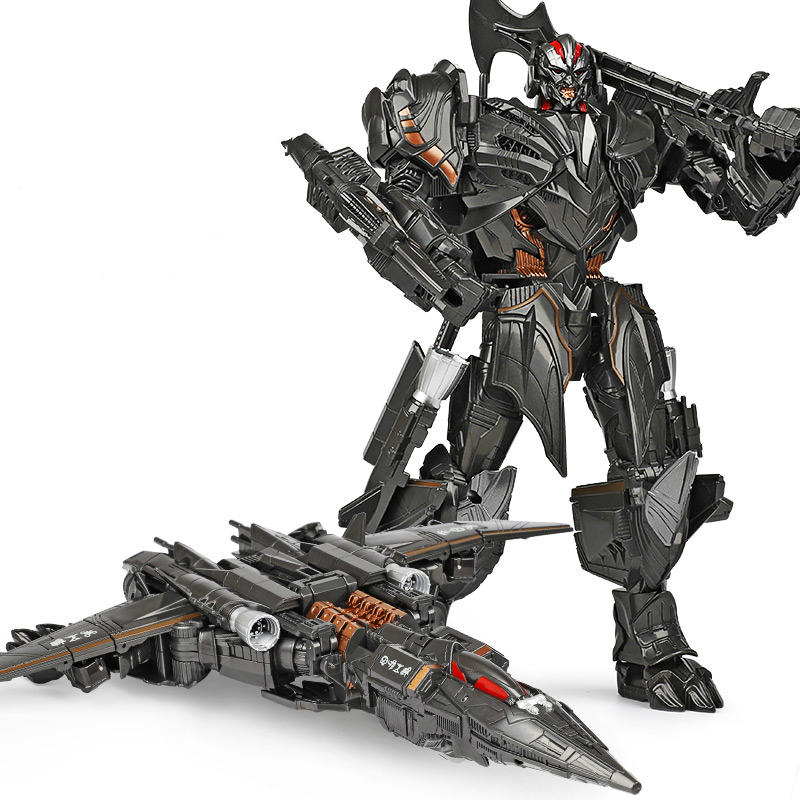 WJ Transformation Oversize 30CM Galvatron The Last Knight MW-001 MW001 KO Movie 5 Film Alloy Plane Action Figure Robot Toys image