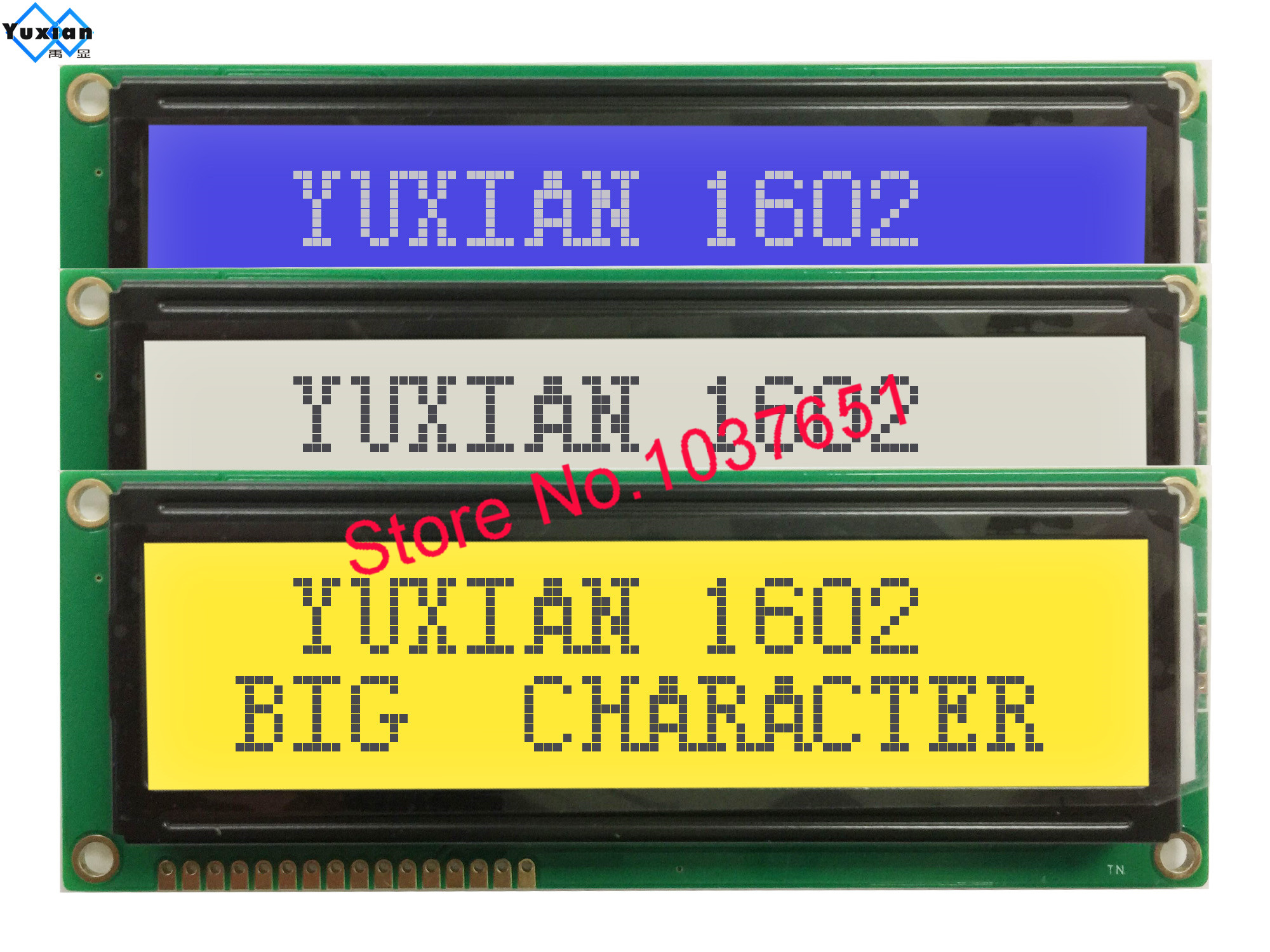 Lcd Module Display 1602 16x2 1602G Large Big Character LCM1602B Instead WH1602L