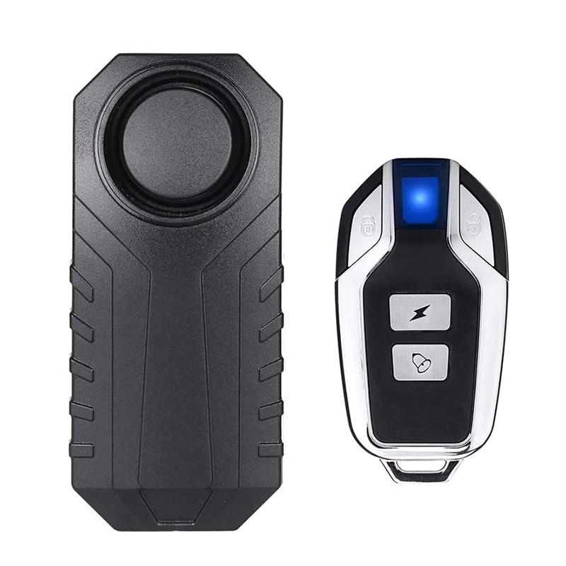 Беспроводной пульт дистанционного управления, сигнализация для велосипеда, мотоцикла, электровелосипеда, безопасность 113dB, водонепроницае...