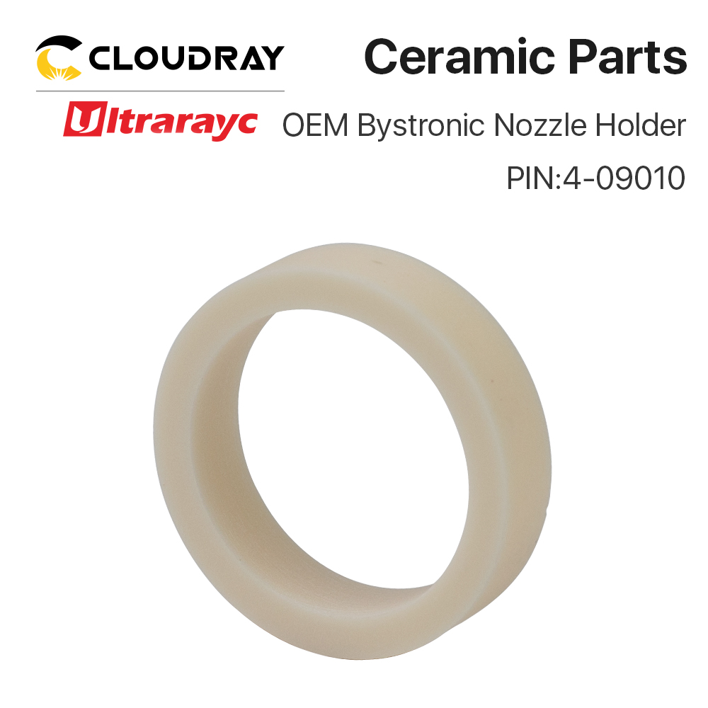 Ultrarayc OEM Bystronic Ceramic Ring Nozzle Holder For Fiber Laser Cutting Head PIN 4-01910