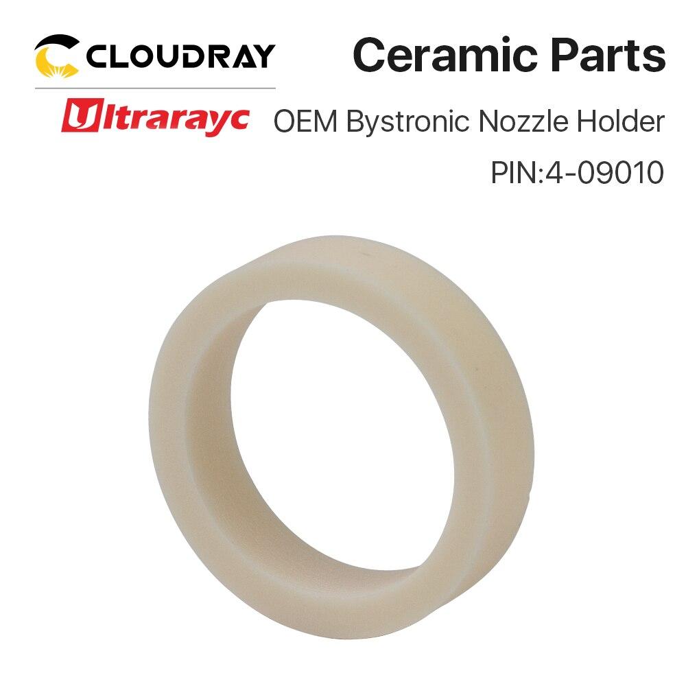Ultrarayc OEM Bystronic Ceramic Ring Nozzle Holder For Fiber Laser Cutting Head PIN 4-01910