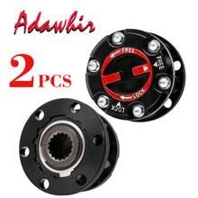 2 piece x fOr ISUZU Pickup Trooper OPEL Frontera Holden Jackaroo Free wheel hub LOCKING HUBS AVM433 897113446PT 8971134460 B022 стоимость