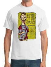 2019 100% Cotton Flesh Is For Zombies Go Vegetarian - Mens T-Shirt Hoodies