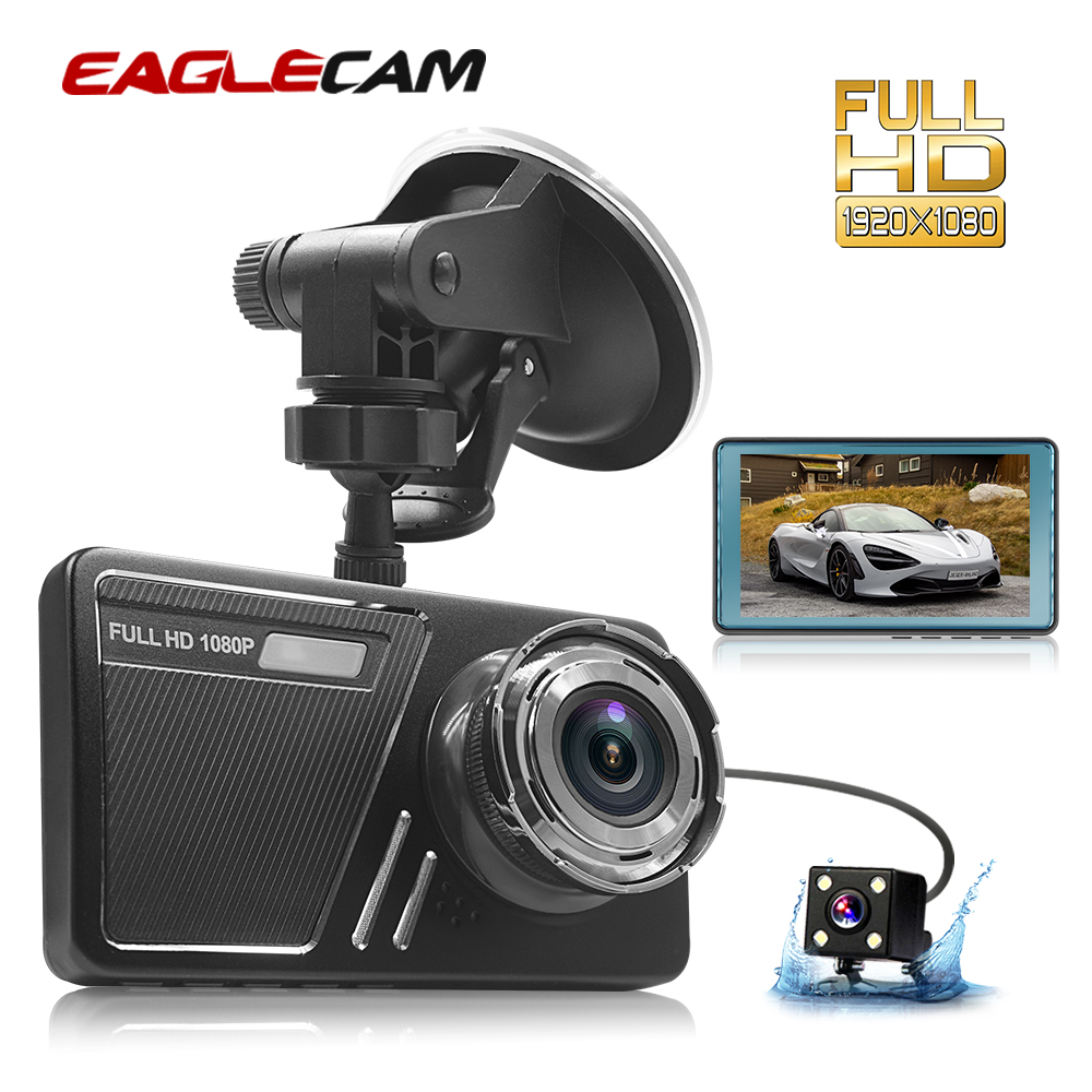 Автомобильный видеорегистратор 4,5 дюймов Full HD 1080 P, видеорегистратор с двумя объективами и камерой заднего вида, видеорегистратор, Автомобильный регистратор, видеорегистратор|Видеорегистраторы|   | АлиЭкспресс