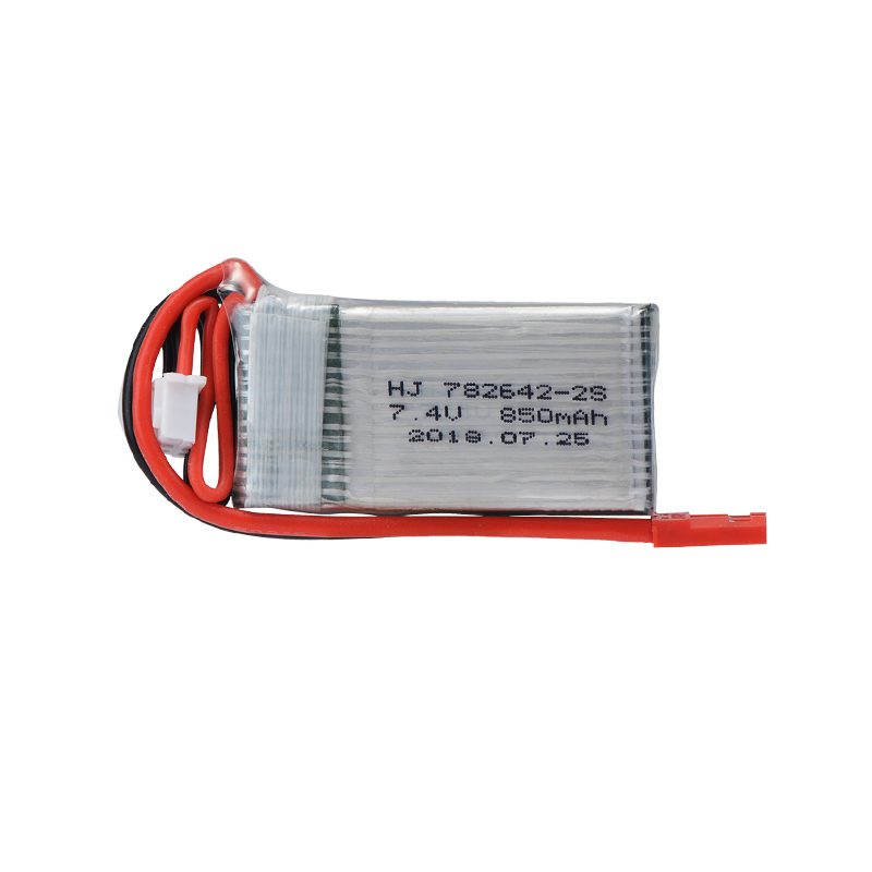 7.4 V <font><b>2S</b></font> <font><b>850mah</b></font> 20C li-po battery MAX 30C JST For Tak RC Helikopter Ucak bolum rc drone image