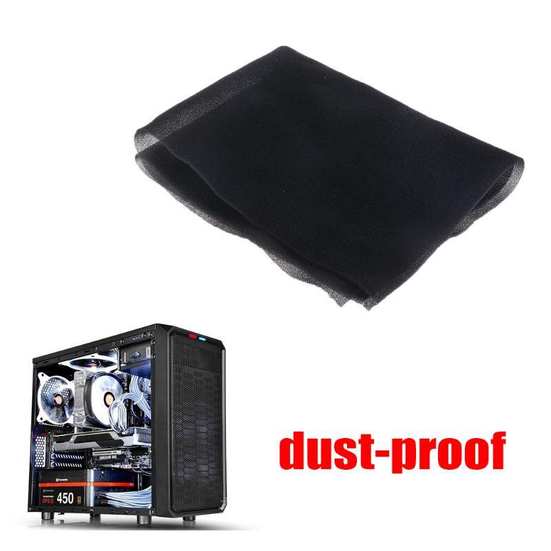 500x400x3/5MM Computer Filter Mesh PC Case Fan Cooler Dustproof Cover Sponge