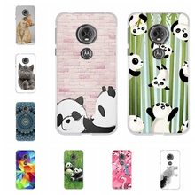For Motorola Moto E5 Case Soft TPU Silicone For Motorola Moto G6 Play Cover Animal Patterned For Motorola Moto E 5th Gen. Shell