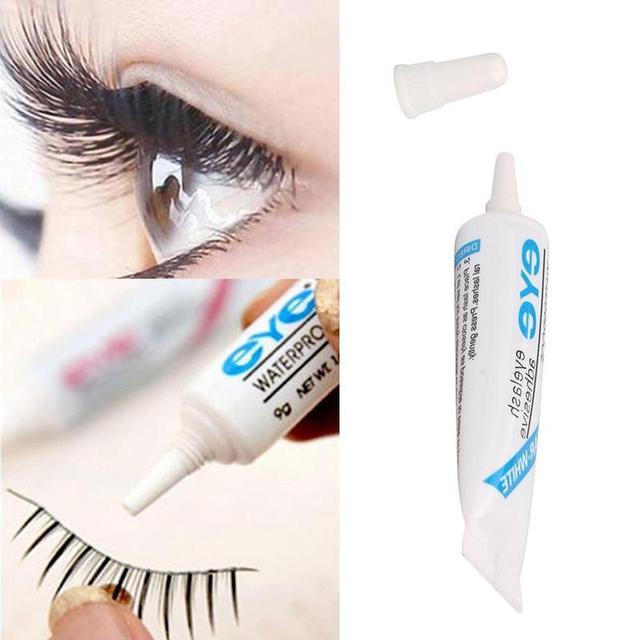 Waterproof False Eyelashes Makeup Adhesive Eye Lash Glue Clear Eyelash Glue Stick Eye Makeup Tool 5