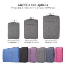 Waterproof Laptop Bag 11 13 15 For Macbook Air Pro 13 Case laptop sleeve For macbook pro Air 13 2019 2018 Xiaomi Air bag Cover