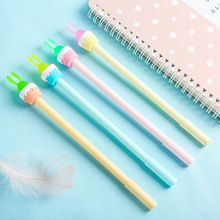36pcs/box Botanical Series Neutral Pen Multi-flesh Creative Style Soft Glue Candida Potted Cute Stationery Wholesale