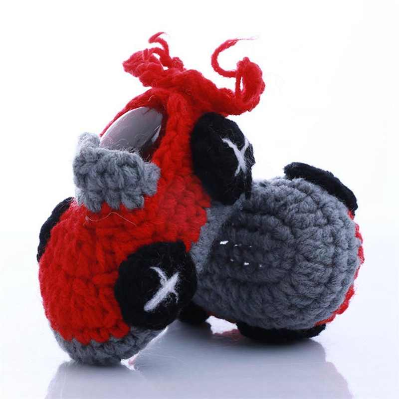 Baby cartoon Shoes Infants Crochet Knit Boots Toddler Girl Boy Wool Snow Boot handmade hand-woven Shoes Winter Booties